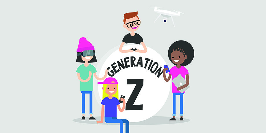 """GENERAZIONE """"Z"""" INFLUENCER CHIAVE"""